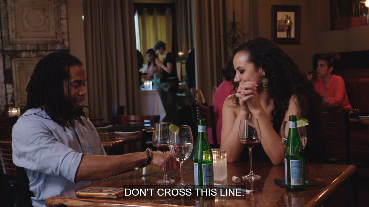 Dont cross this line